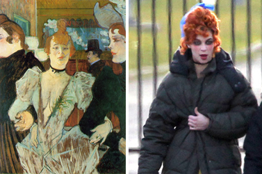Toulouse Lautrec Painting Comes To Life As Rachel