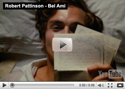 Bel Ami sex scene video excerpts with Robert Pattinson have surfaced!